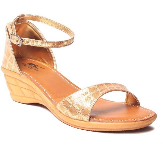 MSC Women Brown Flats