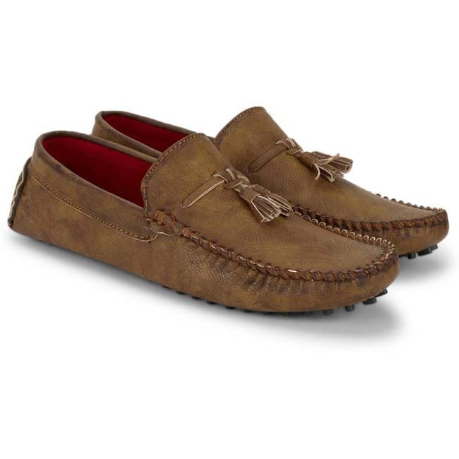 Musk Duck Loafers  (Tan)