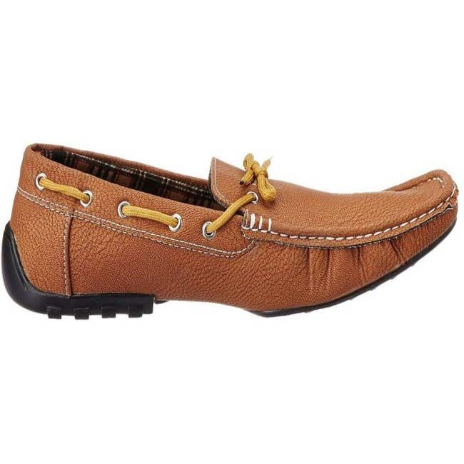 Tapps Loafers  (Tan) size-8